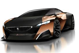 peugeot sports car peugeot u0027s hybrid supercar concept hailed for design work car