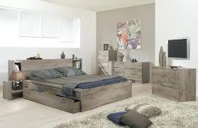 chambre chene massif tete du lit tete lit rangement chene massif peinture grise tableau
