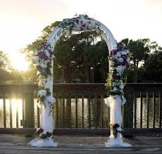 Wedding Arches Melbourne Central Florida Event Rentals Of Chairs And Tables For Weddings
