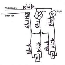 broan nutone wiring diagram for 2 single lights questions
