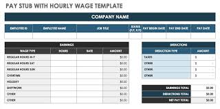 pay stub template pay check paystub template 15 free pay stub