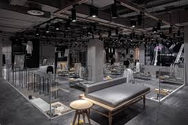 this retail space for designer department store jooos is insanely