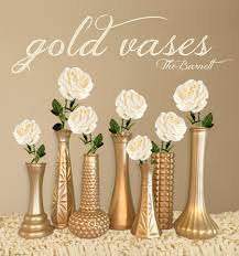 gold centerpieces gold vases gold wedding gold centerpieces gold bud vase