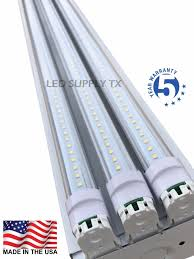 set 2 commercial electric 2 lamp hanging fluorescent shoplight