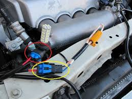 how to install led lights in car headlights install led daytime running lights with special drl decoder