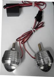 led strobe lights for motorcycles details about strobe light for royal enfiled 1pair red led light