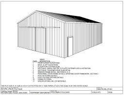 30 u2032 x 40 u2032 pole barn plan free house plan reviews