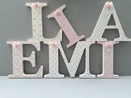 15 best shabby chic free standing wooden letters images on
