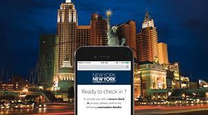 mobile check in new york new york hotel u0026 casino