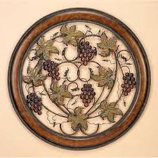 wall decor u0026 home accents ripened grapes handmade metal wall