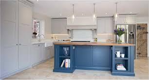 pictures of blue grey kitchen cabinets kitchen