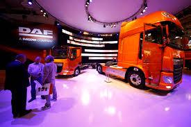 paccar company žemabalniai daf cf ir xf demonstruoja efektyvumą trucker lt