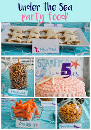 mermaid party ideas the sea a joint shark and mermaid birthday party pretty real