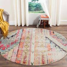 Southwestern Throw Rugs Round Southwestern Area Rugs Rugs The Home Depot
