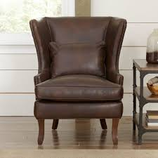 chairs contemporary light gray wing back chair with steel leg