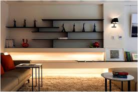 living room wall shelves
