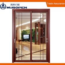 Veranda En Alu Sliding Door Grill Design Sliding Door Grill Design Suppliers And