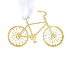 moon and lola bicycle ornament