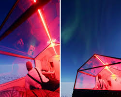 finland northern lights hotel this tiny house on a sled is the perfect way to see the northern