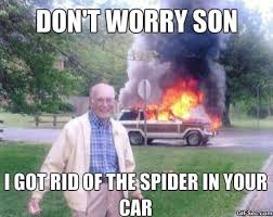Funny Spider Meme - funny pictures i killed the spider meme