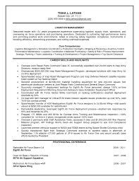 Supply Chain Manager Sample Resume by Sample Resume For Logistics Manager Sample Resume Format