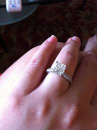 radiant cut engagement rings anyone pictures on your of radiant cut ring weddingbee