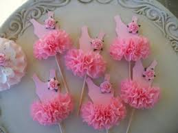 tutu decorations for baby shower ballerina tutu baby shower toppers and decoration baby shower