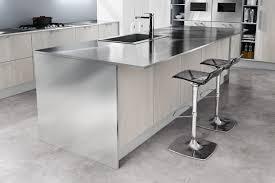 plan de travail inox cuisine plan de travail inox cuisine professionnel maison design bahbe com