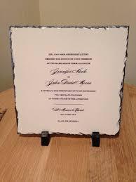personalized wedding plaque personalized wedding invitation keepsake slate plaque your image