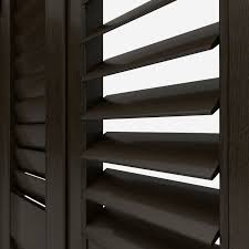 ultimate black walnut made to measure shutters from shutters direct