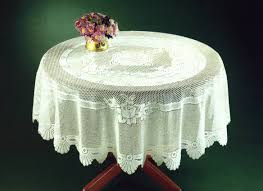 monica lace tablecloth traditional rose pattern table linen 36