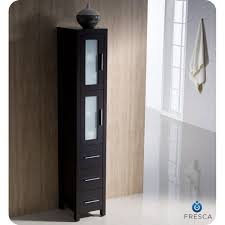 fresca torino 42 inch espresso modern bathroom vanity with side