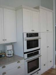 Kitchen Oven Cabinets Built In Appliances And Frameless Cabinets