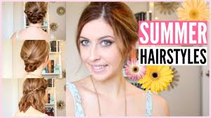 easy hairstyles for straight medium length hair quick u0026 easy summer hairstyles for any length hair courtney