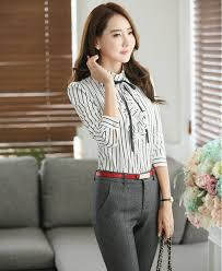 styles of work suites new spring fall formal uniform styles professional work suits with 2
