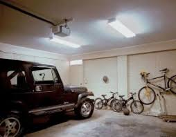 hardwired led shop lights 3 types of lighting for your garage the home depot community