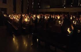 vigil lights catholic church i love the easter vigil mary mother of the church