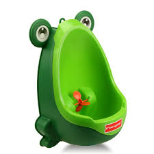 amazon com foryee cute frog potty training urinal for boys with