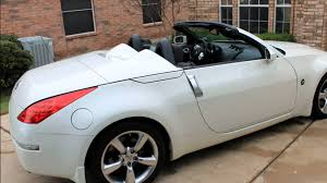 nissan 2008 white 2008 350z roadster youtube