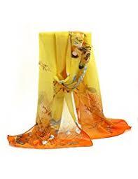 amazon co uk yellow scarves u0026 wraps accessories clothing