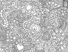 complex coloring pages teenagers kids colouring pages