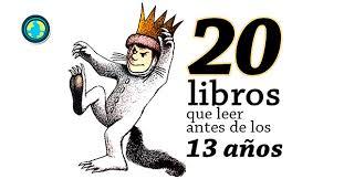 colombia libro de lectura grado 6 20 libros que leer antes de los 13 años
