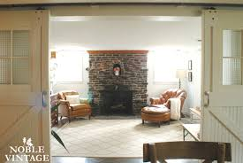 Cottage Rustic Family Room Some Updates Noble Vintage - Cottage family room