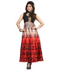 lady zone women u0027s banglori silk gold color semi stitched evening