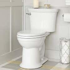 Oblong Toilet Seat Heritage Vormax Right Height Elongated Toilet American Standard