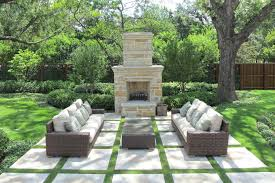 outstanding stone landscaping ideas with inviting custom swimming pool design inspiration with blue bottom