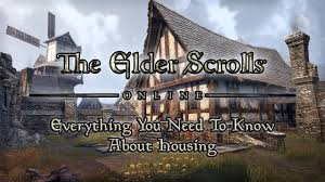 Build Homes Online Housing In Elder Scrolls Online Everything You Need To Know Youtube