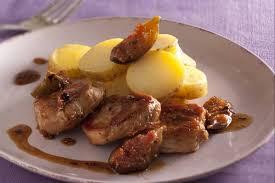 recette cuisine porc recette de médaillons de porc au miel et à la figue au poivre