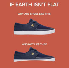 Meme Sneakers - dopl3r com memes if earth isnt flat why are shoes like this and