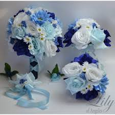 royal blue boutonniere blue navy royal marine white bouquets corsages boutonnieres
